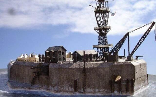 Fort Drum American Concrete Ship 02